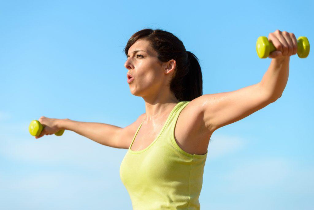 운동의 효과를 극대화시키는 올바른 호흡법